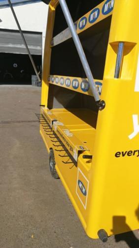 Juro MTN Fibreglass Hawkers Cart