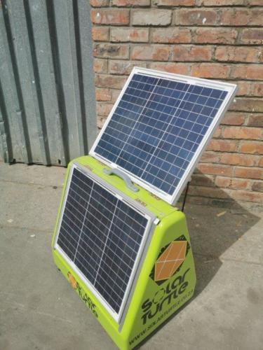Juro Solar Powered Phone Charging Briefcase 1