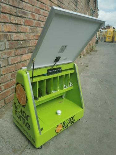 Juro Solar Powered Phone Charging Briefcase 10
