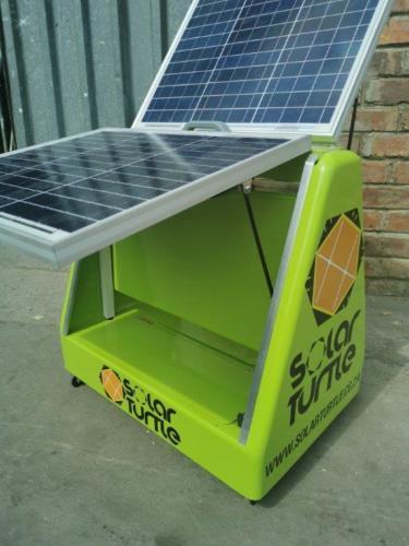 Juro Solar Powered Phone Charging Briefcase 5