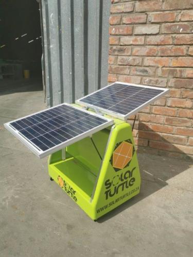 Juro Solar Powered Phone Charging Briefcase 7